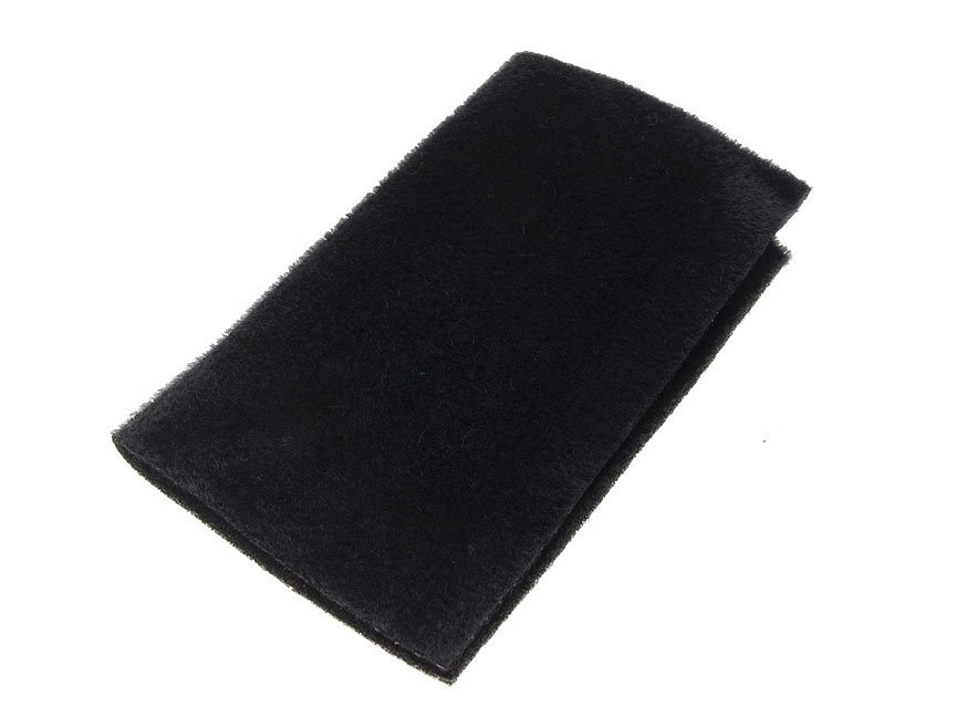 Image of   Furry foam black