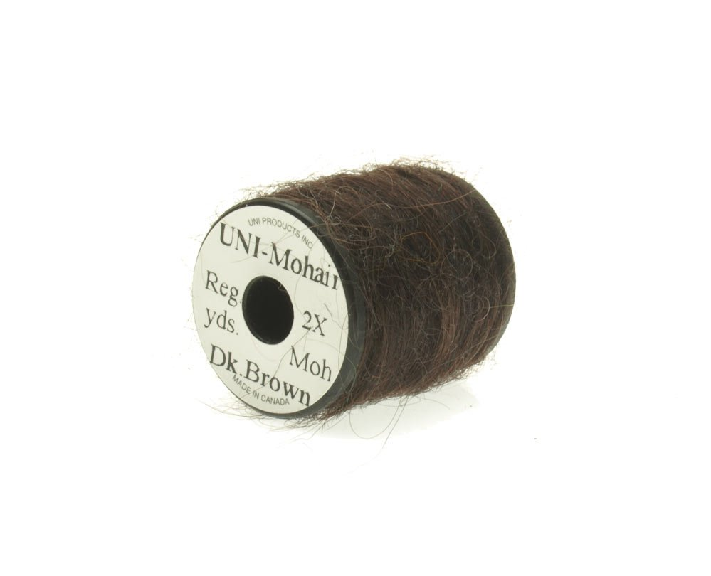 Image of   Mohair yarn dark brown