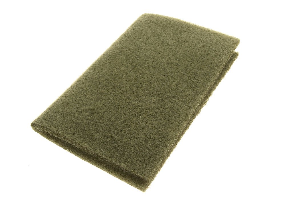 Image of   Furry foam dark olive