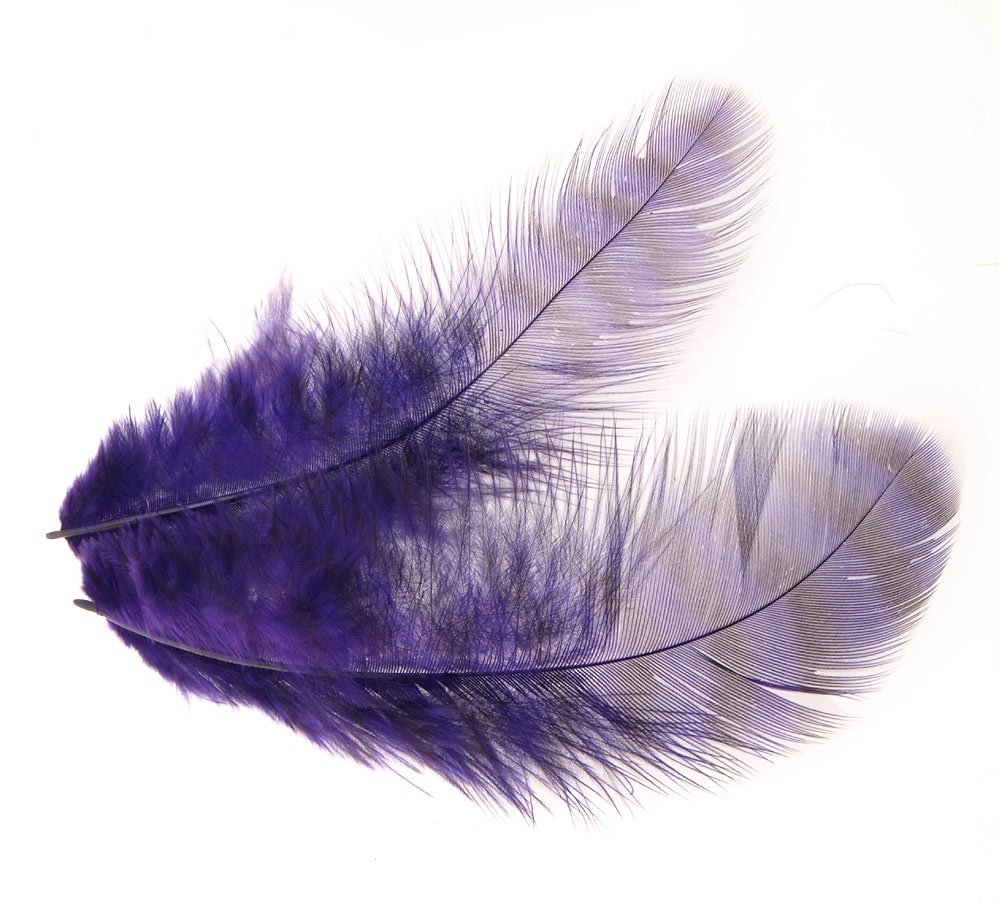Image of   Grizzly soft hackle purple
