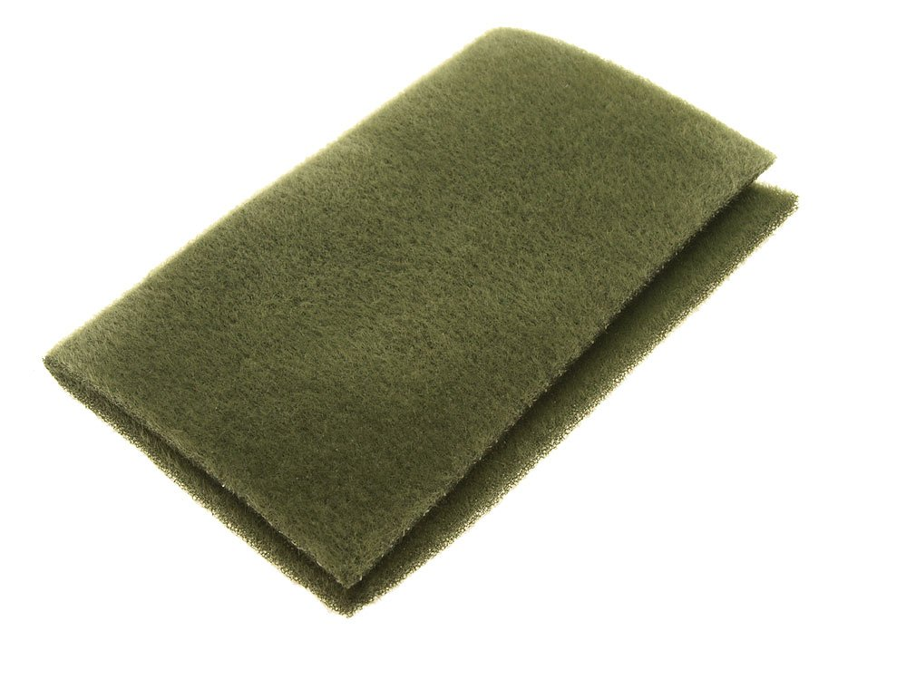 Image of   Furry foam moss green