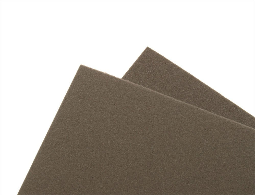 Image of   Thin fly foam 2 mm - dark gray
