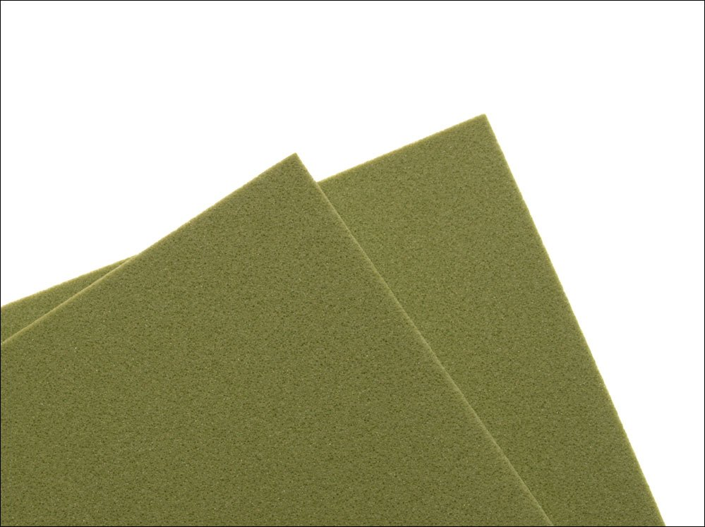 Image of   Thin fly foam 2 mm - light olive