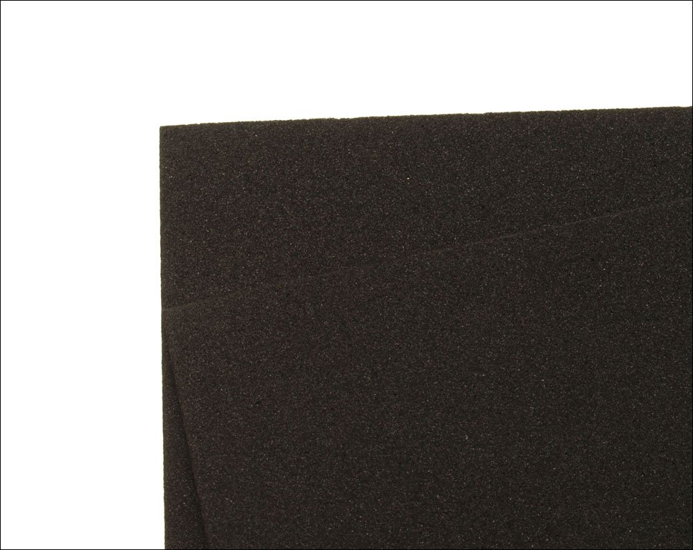 Image of   Thin fly foam 2 mm - black