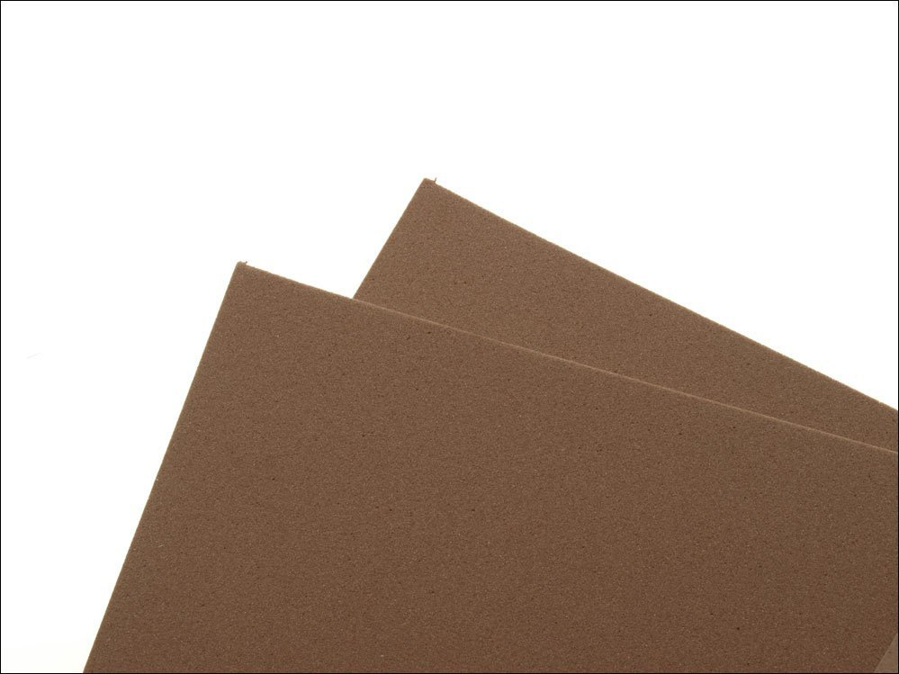 Image of   Thin fly foam 2 mm - brown