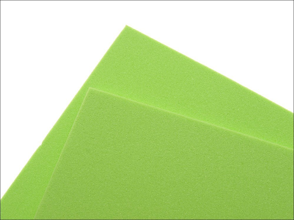 Image of   Thin fly foam 2 mm - chartreuse