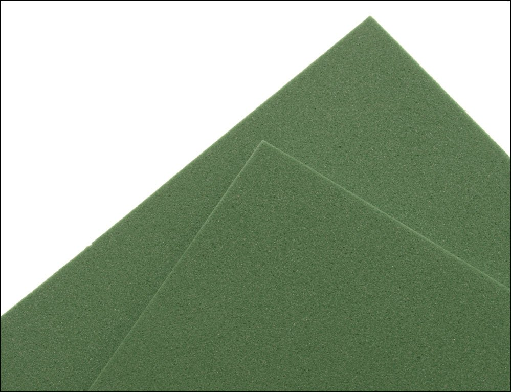 Image of   Thin fly foam 2 mm - olive