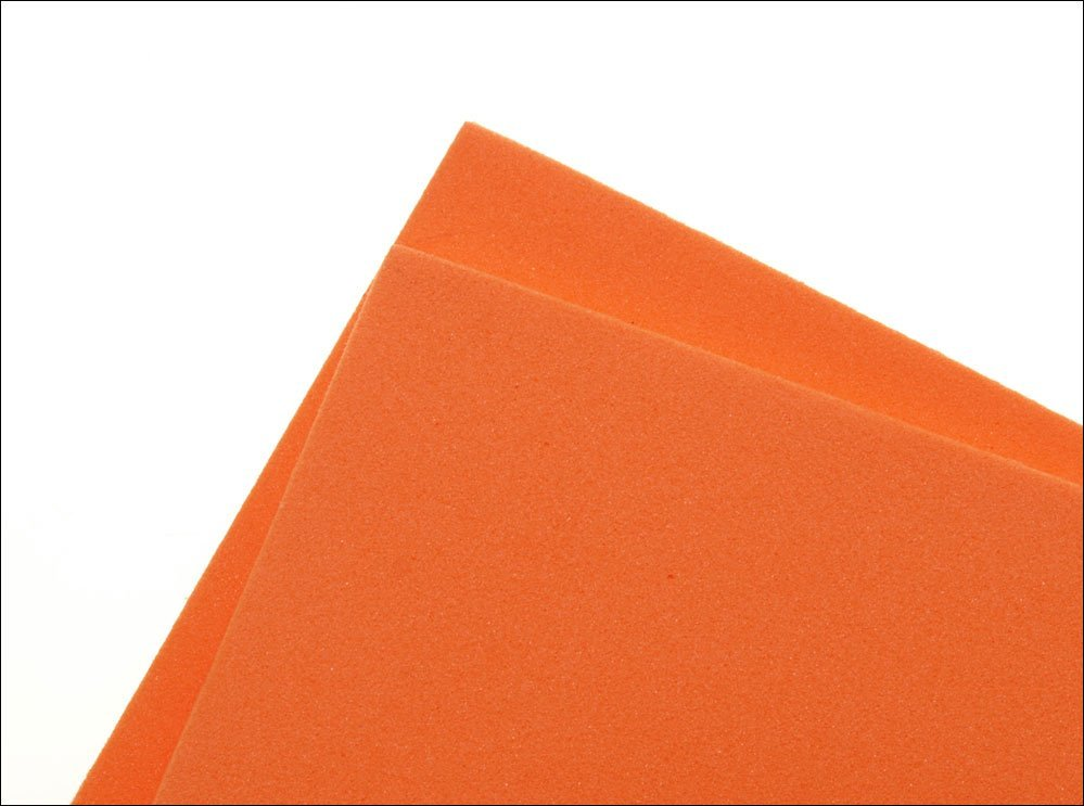 Image of   Thin fly foam 2 mm - orange