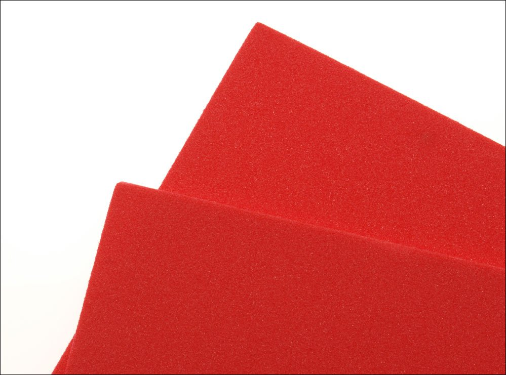 Image of   Thin fly foam 2 mm - red
