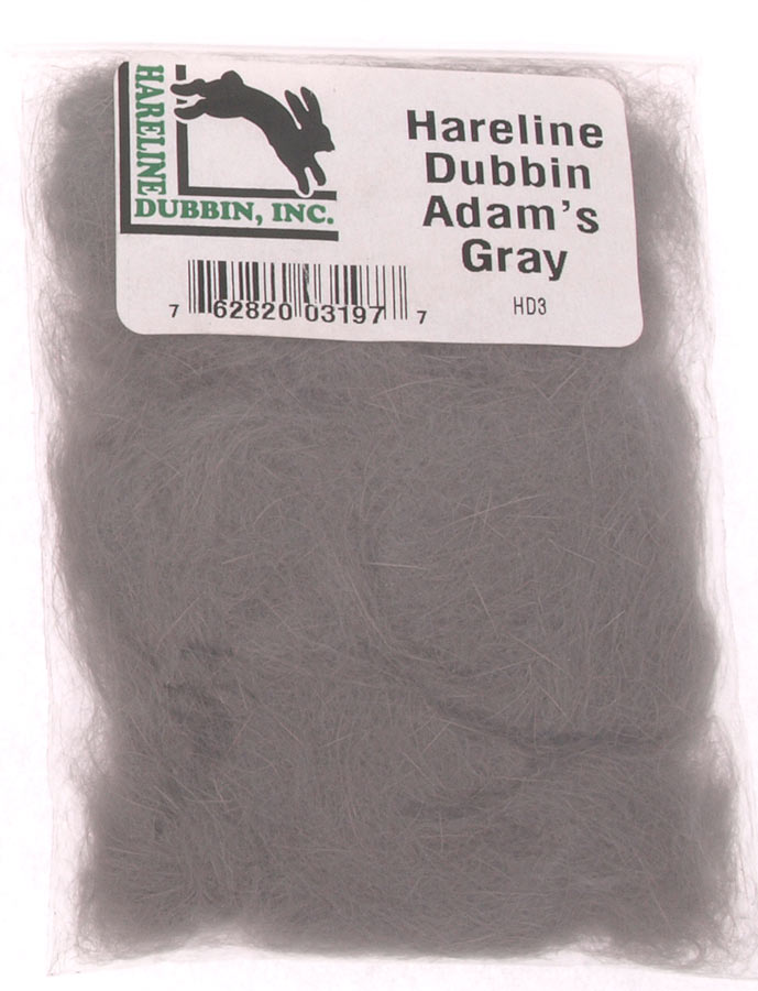 Image of   Hareline dub adams grey