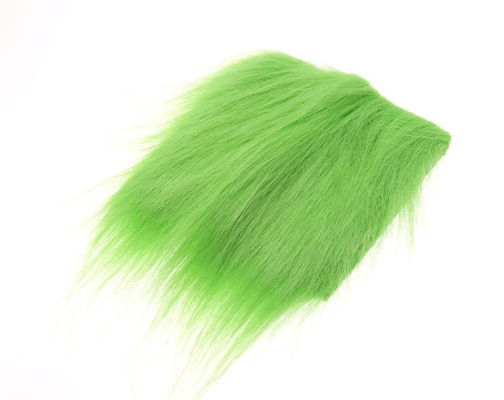 Image of   Extra select craft fur bright green