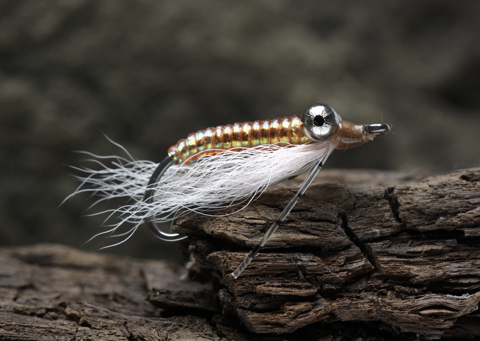 Image of   Bonefish flue - crazy charlie sand
