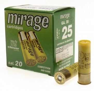 Cleaver Mirage 24 gr. kal. 20/70 - 25 Stk.