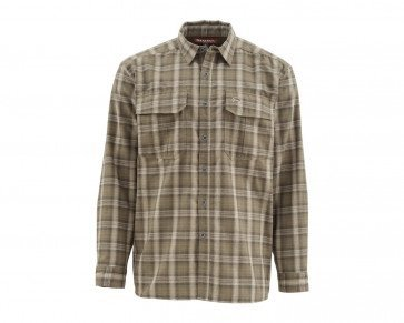 Simms ColdWeather Shirt Canteen Plaid #SMALL