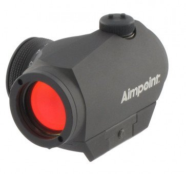 Aimpoint Micro H-1™ - Rødpunktsigte med Picatinny/Weaver montage