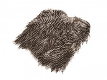 Giant Softhackle patch - Natural Grizzly