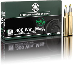 RWS Evolution Green 300 Win Mag 8,8 g - 20 stk