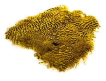 Giant Softhackle Grizzly Yellow ( Gul )