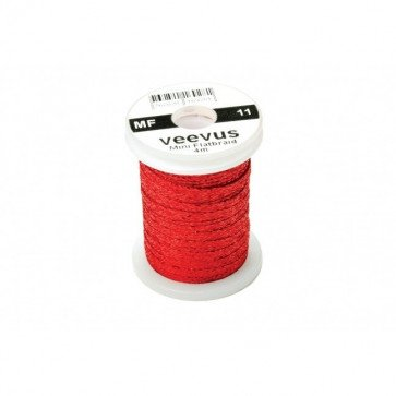 Veevus Mini Flatbraid Red