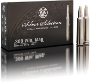RWS Silver Select Evolution 300 Win Mag 11,9 g. - 20 stk