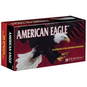 Federal American Eagle Pistol .38 Special - 50 stk.