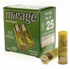 Cleaver Mirage 26 gr. kal. 20/70 - 25 Stk.