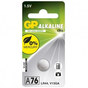 GP Ultra Plus Alkine Knapcelle 76A 1,5v
