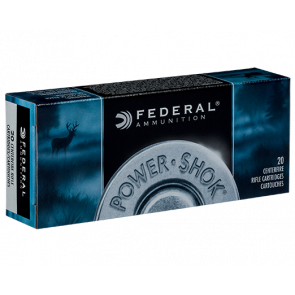 Federal Power Shok kal. 6,5x55 - 9,0 g - 20 stk. - Jagt