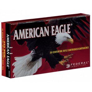 Federal American Eagle kal. .223 Rem. 3,6 g - 20 stk. - Spidsskarp