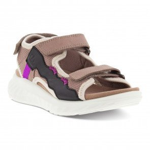 Ecco SP.1 Lite Sandal K Barn - Woodrose/Black