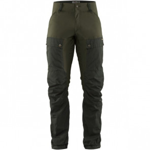 Fjällräven Keb Trousers M Deep Forest - Laurel Green