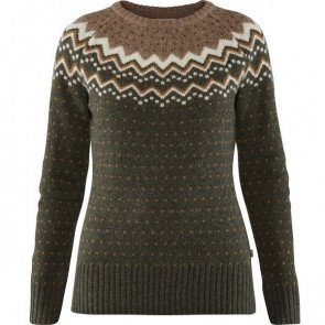 Fjällräven Övik Knit Sweater Deep Forest