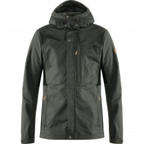 Fjällräven Kaipak Jacket M Dark Grey-Black