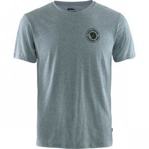 Fjällräven Logo T-shirt Herre - Uncle Blue
