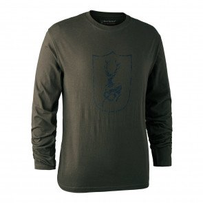 Deerhunter Logo T-shirt long sleeve