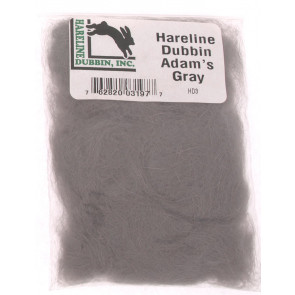 Hareline dub Adams Grey