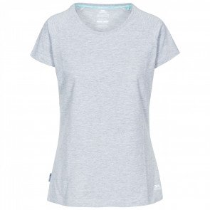 Trespass Benita Casual T-Shirt Dame Grey Marl