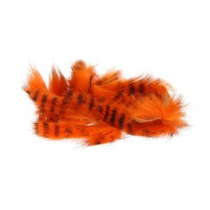 HL Black Barred Magnum Rabbit StripsHot Orange