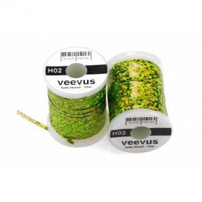 Veevus Holo Tinsel Chartreuse