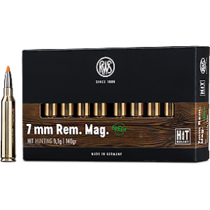 RWS HIT 7mm Rem. Mag. 9,1g Blyfri  - 20 stk