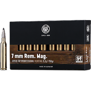 RWS Speed-Tip Pro 7 mm Rem. Mag. 9,7 g. - 20 stk.