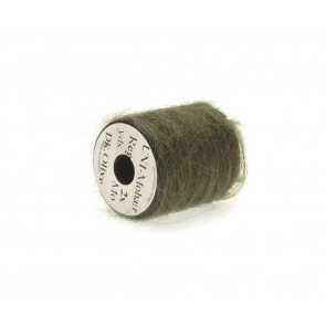Mohair yarn  dark olive