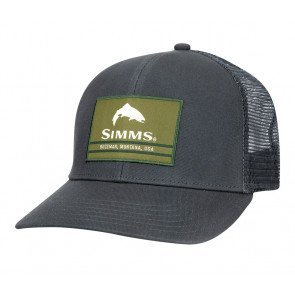 Simms Original Patch Trucker Carbon