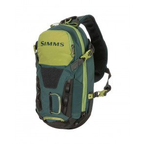 Simms Freestone Ambidextrous Tactical Fishing Sling Pack Shadow Green