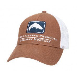 Simms Trout Icon Trucker Mocha