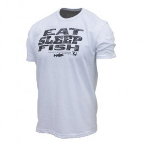 Loop Eat Fish Sleep T-shirt  -  LARGE
