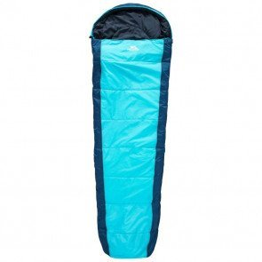 Trespass Echotec Sleeping Bag Blue - Sovepose