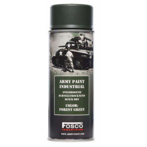 Fosco Industrial Army Paint - Forest Green