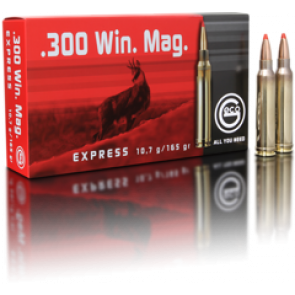 Geco Express 300 Win Mag 10,7 g. - 20 stk