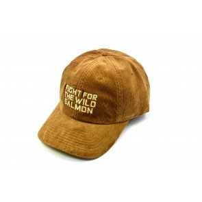 Wild Salmon Trucker Fløjls hat Rusty Brown